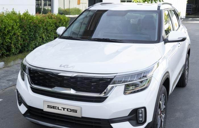 Kia Seltos 1.4 gia tăng trang bị, thay đổi logo