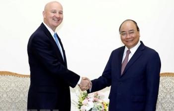 Thủ tướng: Việt Nam muốn thúc đẩy quan hệ Đối tác toàn diện với Mỹ