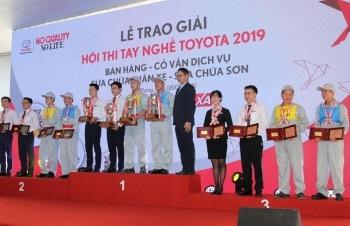 Toyota Việt Nam tổ chức chung kết Hội thi tay nghề Toyota 2019 TP. Hải Phòng