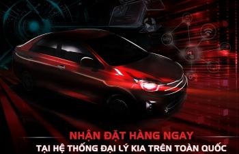 Kia Việt Nam chính thức nhận đặt hàng Soluto, mẫu xe hoàn toàn mới trong phân khúc B-Sedan