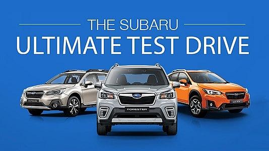 subaru ultimate test drive 2019