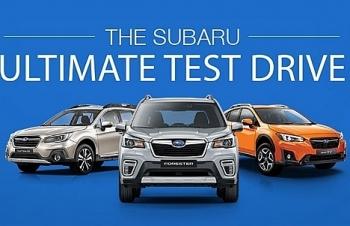 Lái thử và trải nghiệm Subaru Ultimate