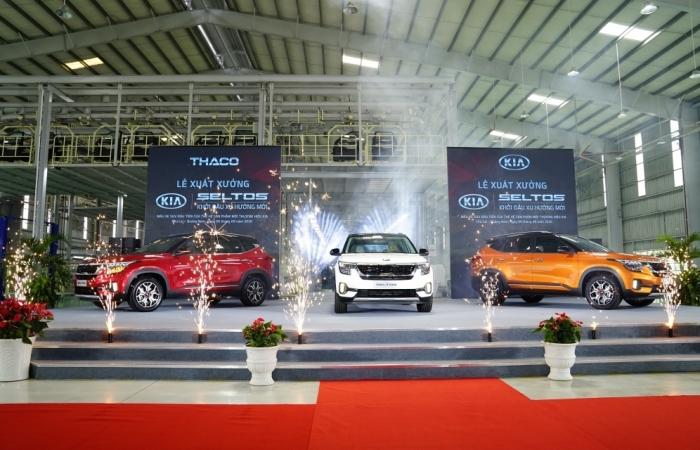 Thaco xuất xưởng xe Kia Seltos
