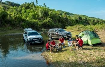 Ford Ranger và Everest đem tới trải nghiệm trọn vẹn trong suốt hành trình