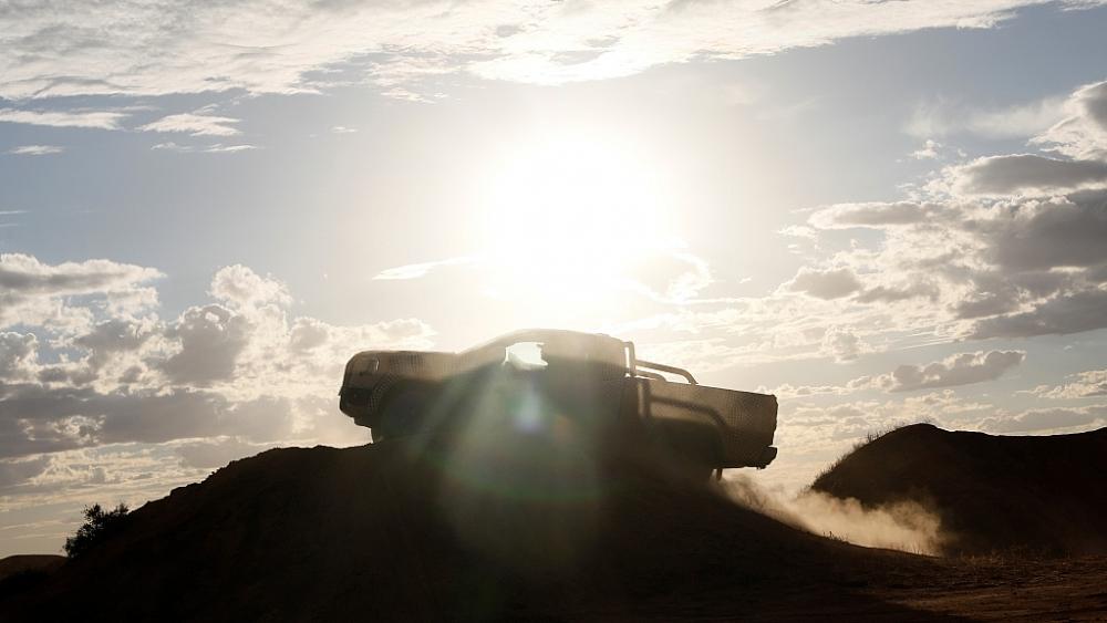Hé lộ những hành ảnh đầu tiên của Ford Ranger thế hệ mới