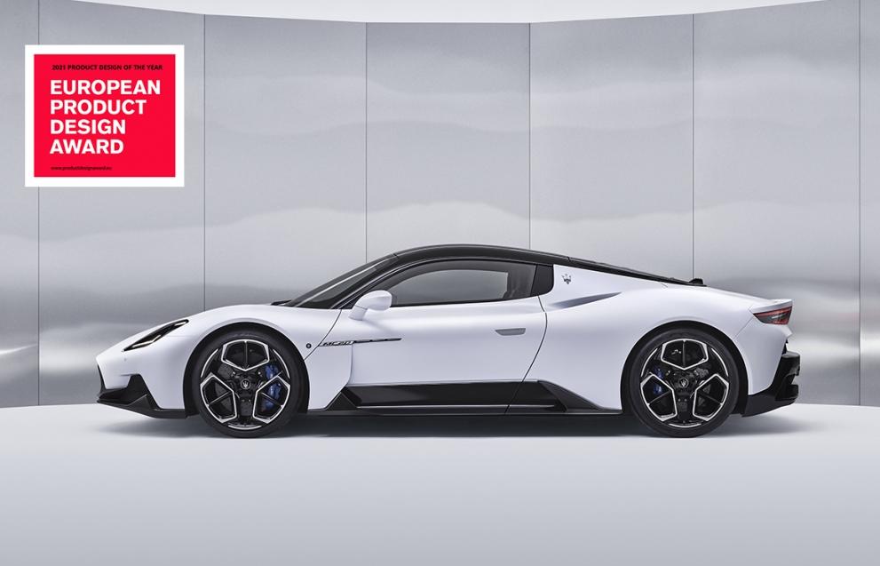 """MC20 của Maserati đạt giải """"Product Design of the Year"""" tại European Product Design Award 2021"""