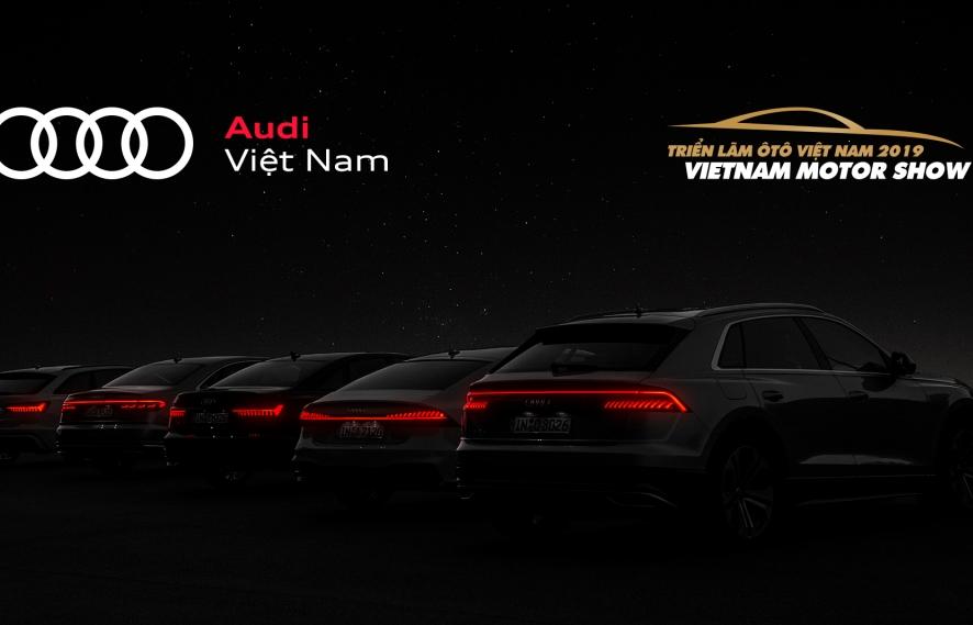 Audi mang 6 mẫu sản phẩm mạnh nhất tới VMS 2019
