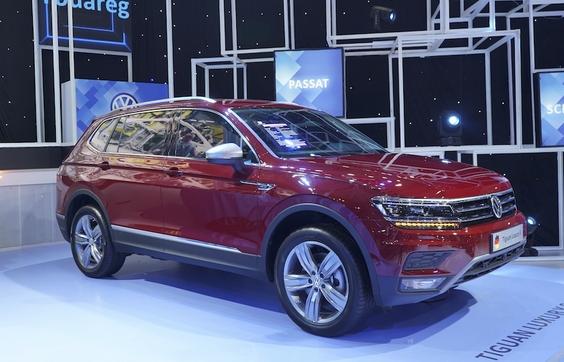 Volkswagen Tiguan Allspace Luxury S có giá 1,869 tỷ đồng