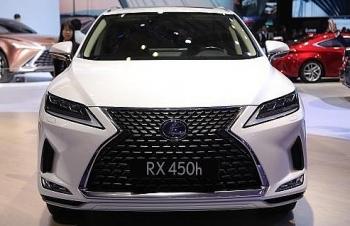 Lexus RX 450h 2020 giá 4,64 tỷ tại Việt Nam
