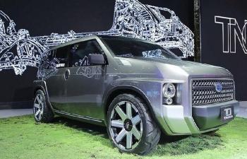 """Ngắm nhìn TJ Cruiser, mẫu xe """"độc"""" của Toyota"""
