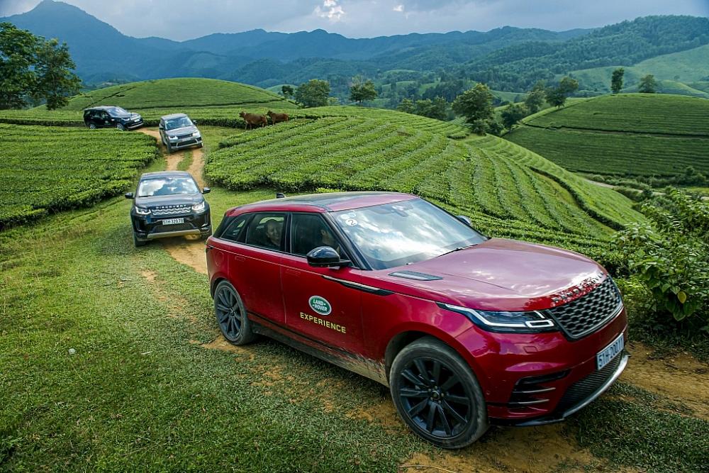 Thích trải nghiệm khám phá, có Land Rover chẳng ngại gì