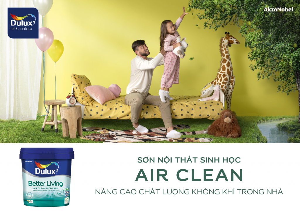 Dulux ra mắt sơn nội thất gốc sinh học đầu tiên tại Việt Nam