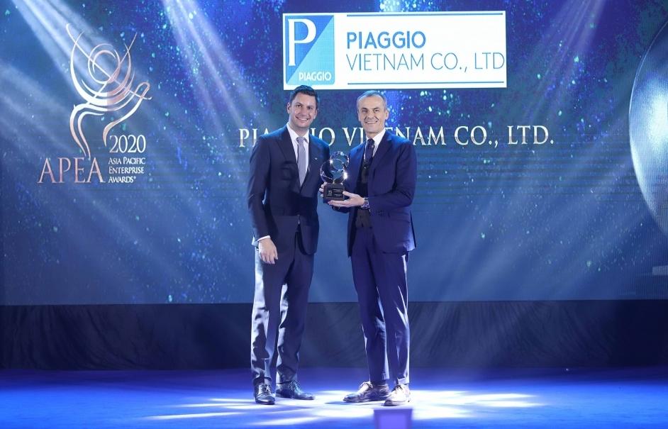 Piaggio Việt Nam được vinh danh hai giải thưởng châu Á