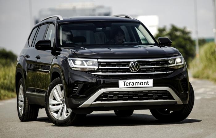 """Nhập khẩu từ Mỹ, Volkswagen Teramont """"chốt"""" giá 2,349 tỷ đồng"""