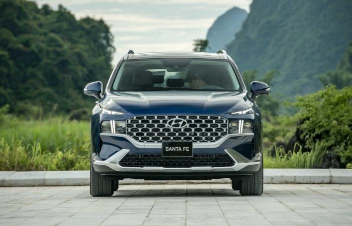Hyundai SantaFe 2021: Thăng hoa cùng cảm xúc