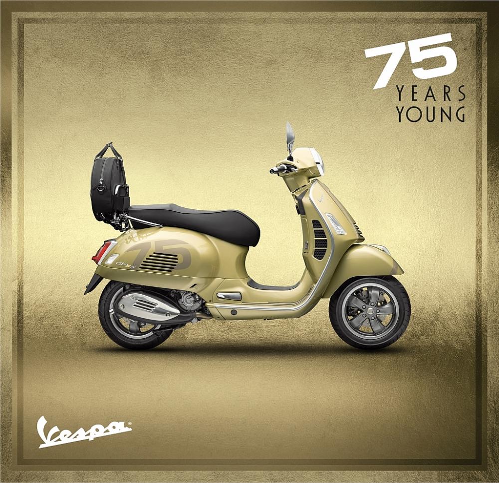 Huyền thoại Vespa 75 năm với 19 triệu xe