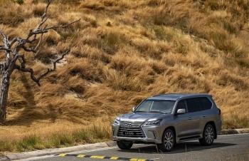 Giá 8,340 tỷ đồng, LX 570 mới, mẫu SUV hạng sang của Lexus có gì?