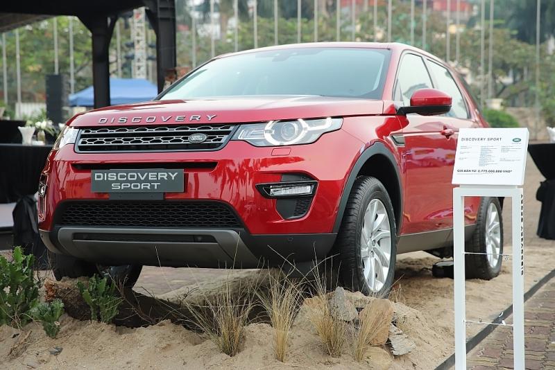 land rover viet nam ra mat range rover evoque moi tai thi truong ha noi