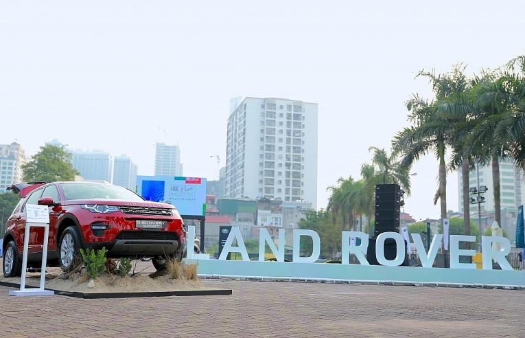 Land Rover Việt Nam ra mắt Range Rover Evoque mới tại thị trường Hà Nội
