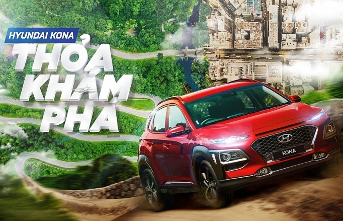 Cơ hội trải nghiệm 10 cung đường đẹp nhất Việt Nam và trúng thưởng Hyundai KONA