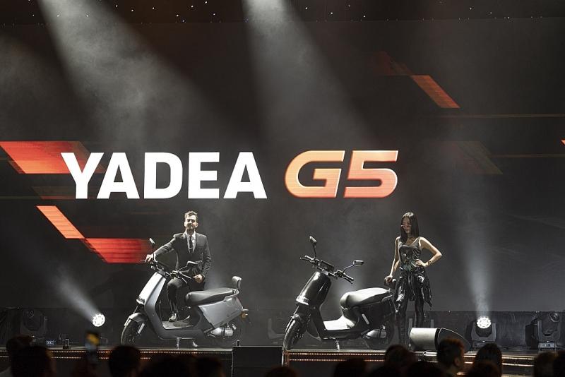 yadea g5 them mot doi thu manh tren thi truong xe may dien cao cap