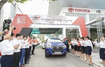 """""""Hành trình 5 châu cùng Toyota"""" đã kết thúc chặng cuối cùng tại Việt Nam"""