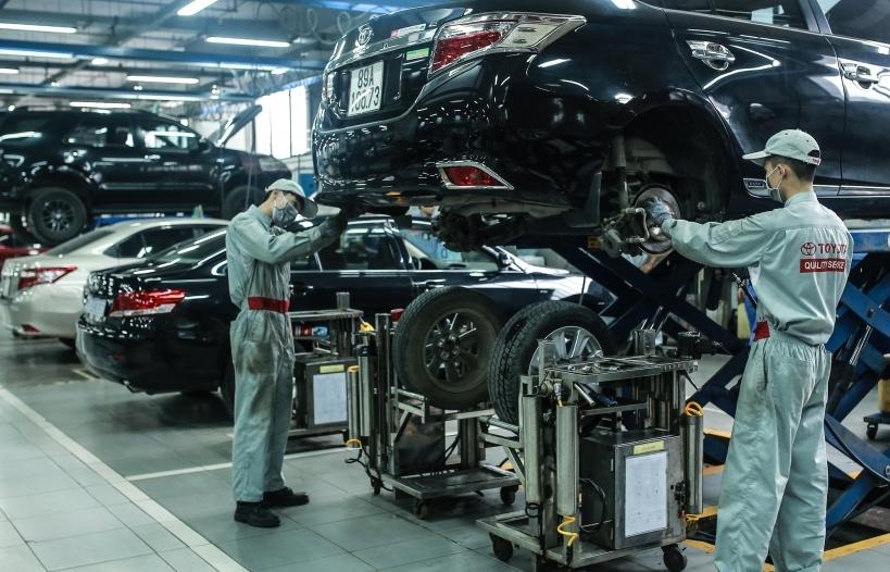 Việt Nam đã sản xuất được 287 mặt hàng linh kiện, phụ tùng xe ô tô