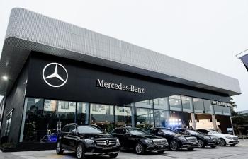 Mercedes-Benz khai trương Xưởng dịch vụ chính hãng An Du Quảng Ninh