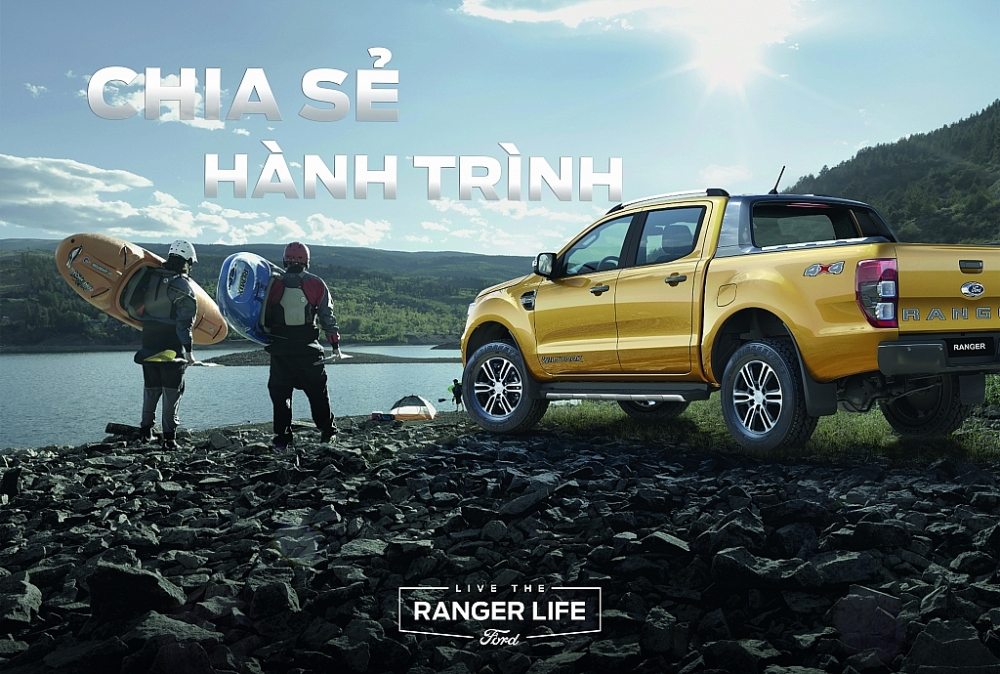 """Ford khởi động chiến dịch """"Live The Ranger Life"""