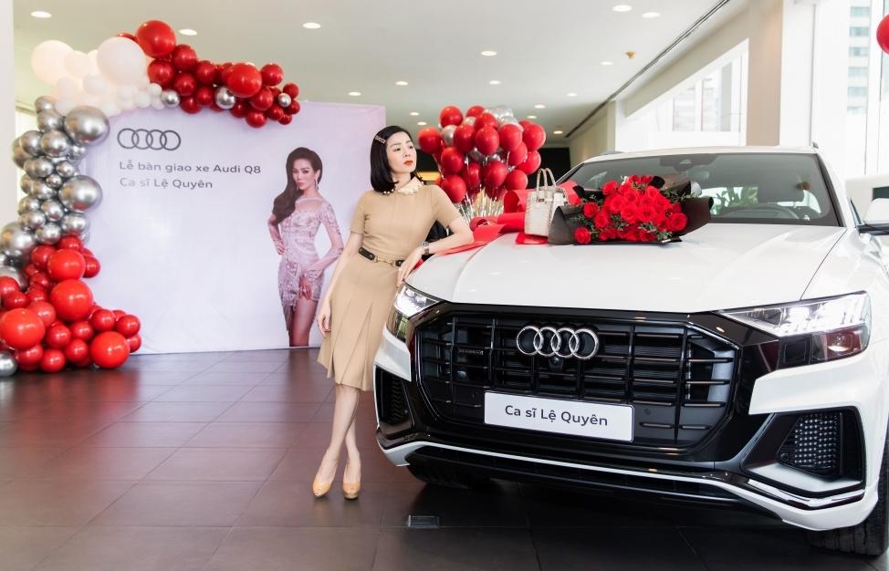 Ca sĩ Lệ Quyên nhanh tay sở hữu Audi Q8