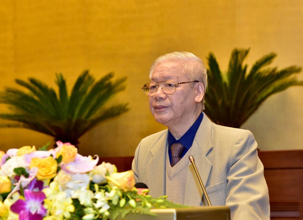 Tổng Bí thư, Chủ tịch nước Nguyễn Phú Trọng: Chọn người xứng đáng làm đại biểu Quốc hội