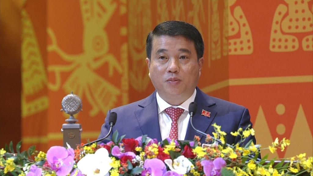 Đồng chí Y Thanh Hà Niê Kđăm, Ủy viên dự khuyết Trung ương Đảng, Bí thư Đảng ủy Khối Doanh nghiệp TW.
