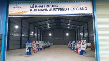 Mavin đưa vào hoạt động kho thức ăn chăn nuôi tại Tiền Giang