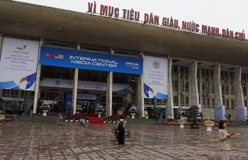 Trung tâm báo chí Quốc tế trước ngày Hội nghị thượng đỉnh Mỹ- Triều diễn ra