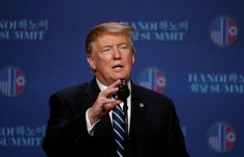 """Tổng thống Donald Trump: """"Đây không phải là thời điểm thích hợp ra tuyên bố chung"""""""