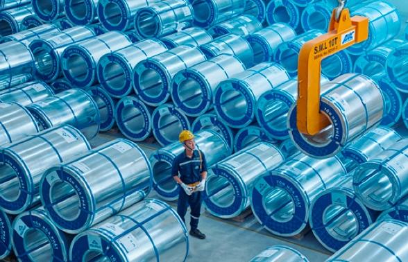 Tôn Hòa Phát xuất khẩu hơn 22.000 tấn tôn mạ dịp đầu năm
