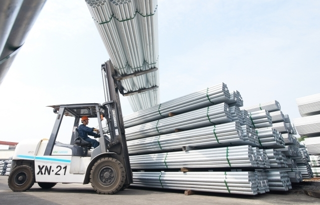 Hòa Phát đẩy mạnh xuất khẩu ống thép, tôn mạ