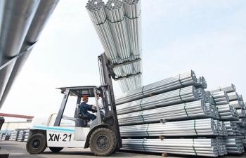 Xuất khẩu thép Hòa Phát tăng mạnh 38%