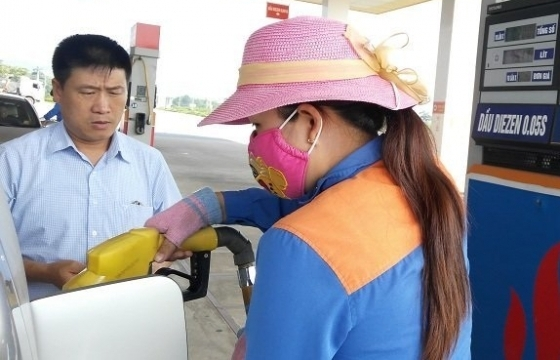 Giá xăng giảm tối đa hơn 600 đồng/lít