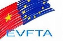 Hội đồng châu Âu thông qua Hiệp định EVFTA