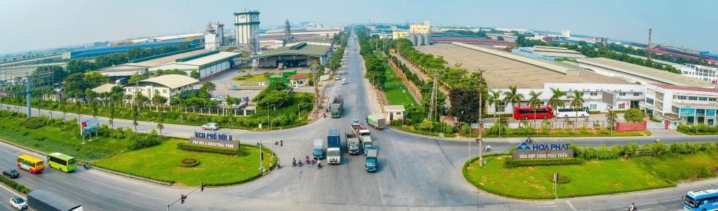Hòa Phát được phê duyệt chủ trương mở rộng KCN Phố Nối A