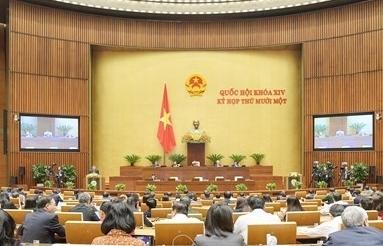 Quốc hội thảo luận về công tác nhiệm kỳ khoá XIV của Quốc hội
