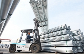 Tôn Hòa Phát tích cực mở thị trường, tăng lượng xuất khẩu