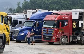 Các tỉnh phía Nam tạm thời chưa đưa nông sản ra Lạng Sơn