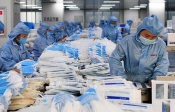 Xuất khẩu khẩu trang y tế trở lại bình thường, hải quan tạo mọi thuận lợi