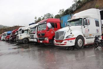 Hàng tồn giảm nhẹ tại cửa khẩu giáp Trung Quốc, Lào, Campuchia