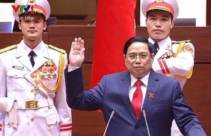 Tân Thủ tướng Phạm Minh Chính tuyên thệ nhậm chức
