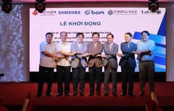 Samsung phối hợp chăm sóc sức khỏe nhãn khoa cho hơn 14.000 người