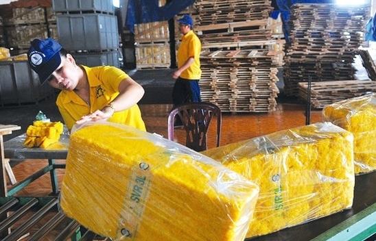 Hoa Kỳ tăng nhập cao su Việt Nam