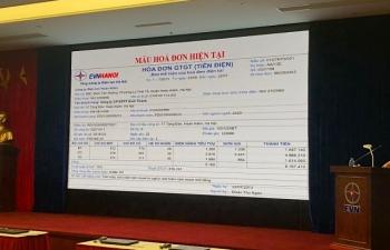 Trúng thưởng tới 10 triệu đồng khi bình chọn mẫu hóa đơn tiền điện mới